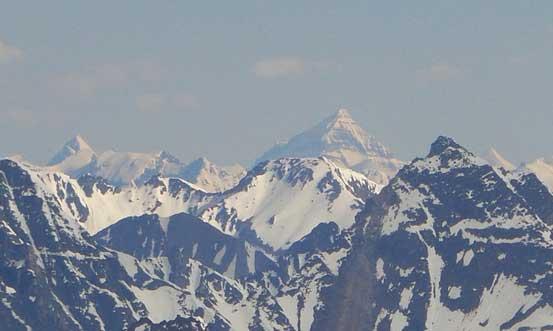 Tsar Mountain in the far distance