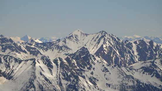 Mt. Pearce towards north