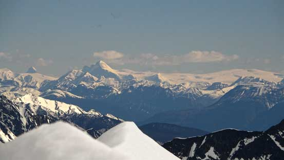 Mt. Columbia and Columbia Icefield