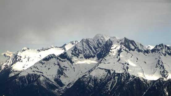 Some weather around Iconoclast Mountain