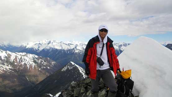 Me on the summit of Ursus Minor Mountain