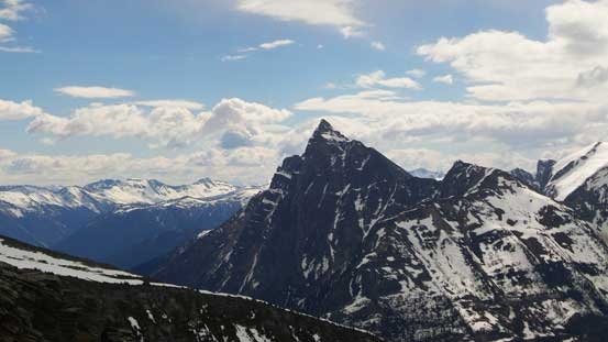Mt. MacDonald from the descent