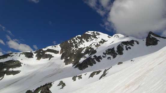Looking back towards Ursus Minor Mountain