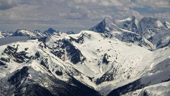 Youngs Peak and Asulkan area