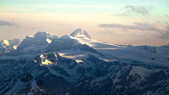 Mt. Warren, Mt. Brazeau and Brazeau Icefield