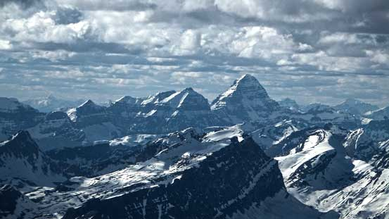 Mt. Assiniboine is the highest I've climbed to date