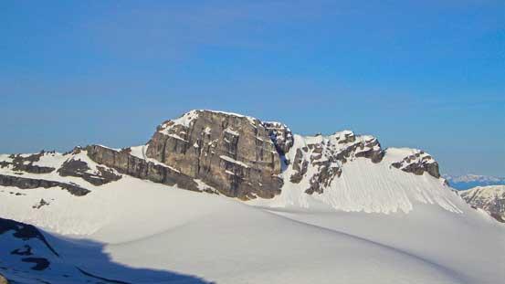 Mt. Mangin is a climb