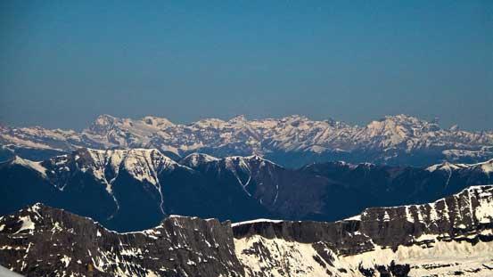 Peaks including Jumbo, Nelson, Farnham