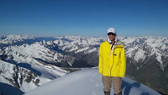 Me on the summit of Rogers Peak