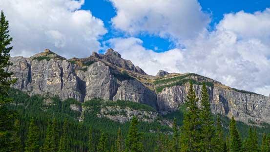 To our left was the impressive Phantom Crag