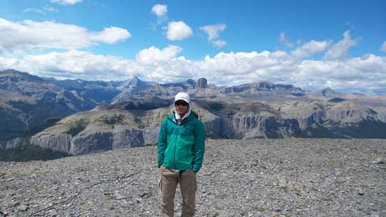 Me on the summit of Black Rock Mountain