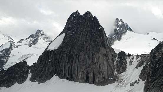 Hardest spire in Bugaboos - Snowpatch Spire