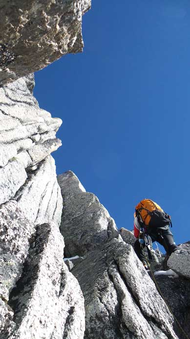 Ferenc leading the second pitch