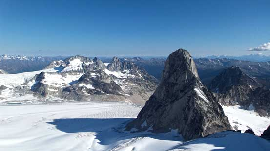 Sick view of Bugaboo Spire!