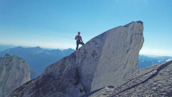Ferenc approaching the true true summit