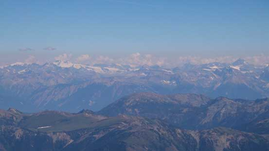 From Lyells to Forbes on the horizon - giants in the central Rockies