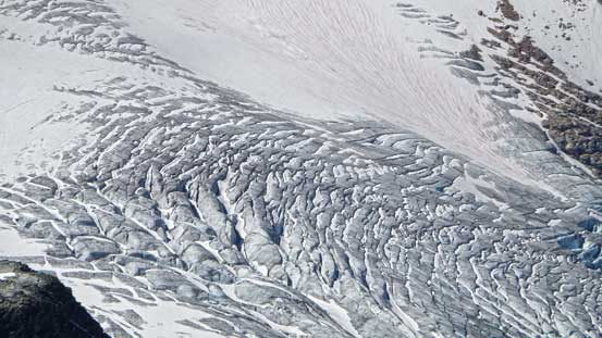 Crevasses on Illecilliwaet Glacier