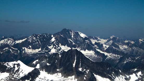 Iconoclast Mountain, one of the major summits in northern Selkirks