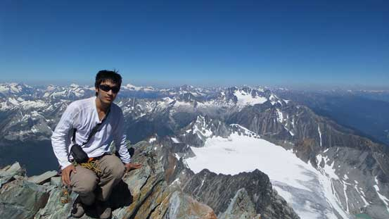 Me on the summit of Mt. Sir Donald