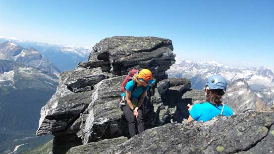 We caught up this two girls from Squamish