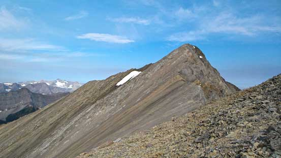 The traverse to true summit