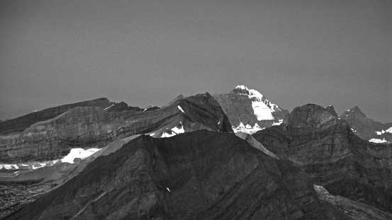 Telephoto of Mt. King George