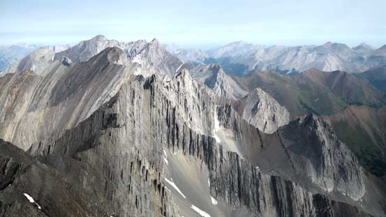 And, the striking mountain ranges