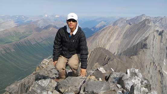 Me on the summit of Mist Mountain