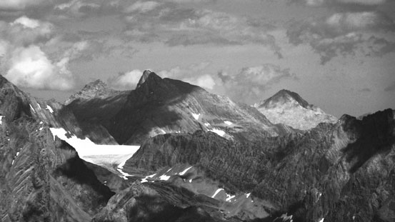 Mt. French and Haig Glacier