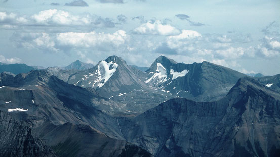 Mt. Sarrail and Mt. Foch