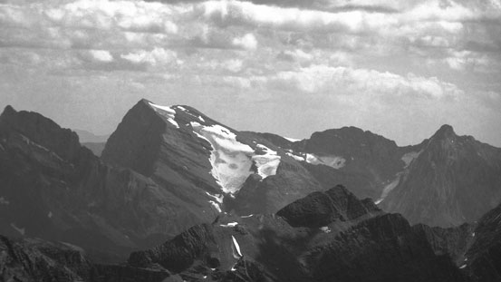 Mt. Abruzzi - highest in Italian Group just south of Joffre