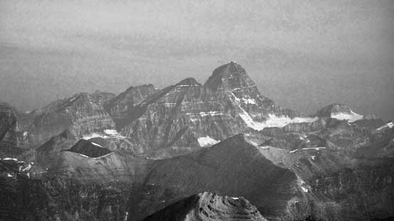 The mighty Mt. Assiniboine