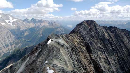False summit ahead. Lots of elevation regain