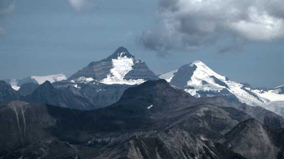 Whitehorn Mountain and Mt. Phillips