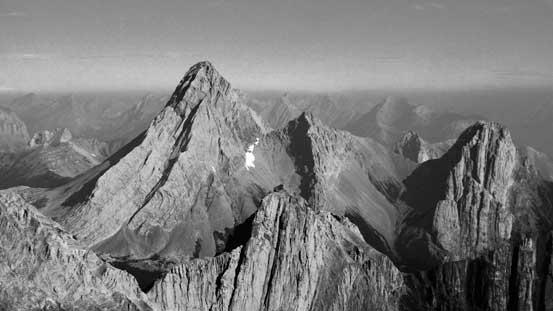 Impressive Mt. Birdwood..