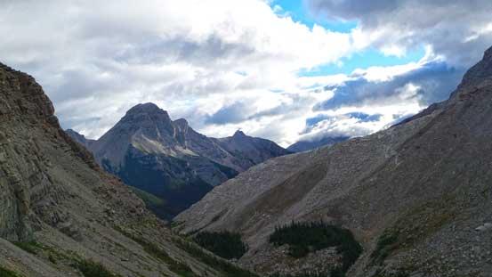 Looking back towards Mt. Splendid