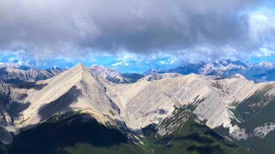 The unnamed peaks again