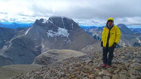 Me on the summit of Mt. Folk