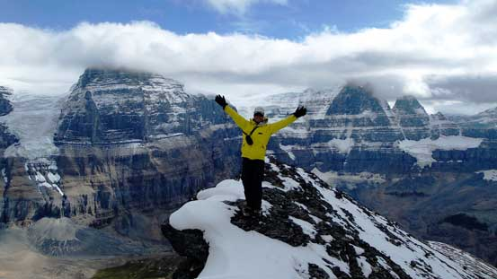 Me on the summit of Little Alberta