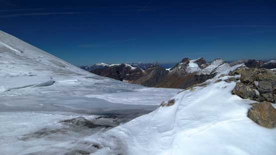 View from Woolley/Diadem col