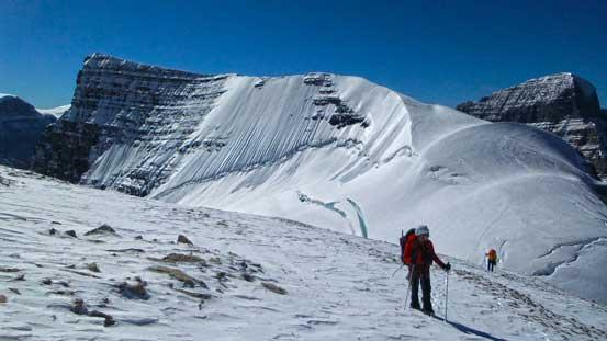 Behind was Mt. Woolley's north ridge