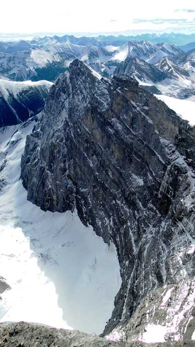 The impressive East face!