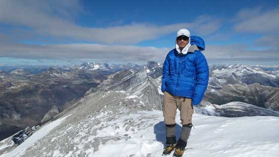 Me on the summit of Abruzzi
