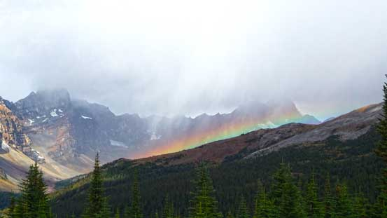 A rainbow!