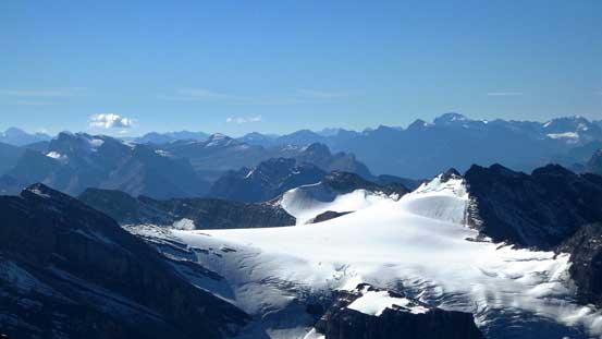 This is Drummond Icefield. Not many people have seen it from this angle!