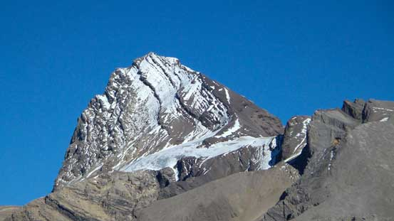 Afternoon view of Cataract Peak.