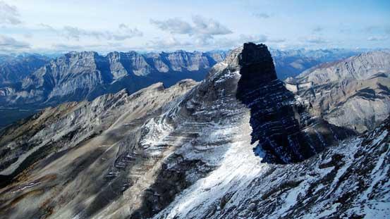 Mt. Inglismaldie looks very impressive