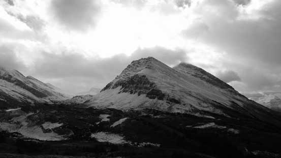 One of the many unnamed peaks nearby.
