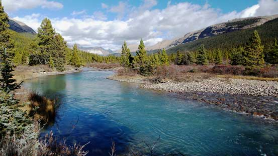 I really like the colour in Brazeau River