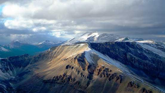 """Poboktan Mountain poking behind """"Marble NW4"""""""